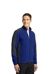 Port Authority® Colorblock Microfleece Jacket