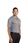 Mens Sport-Tek® Heather Colorblock Contender™ Polo